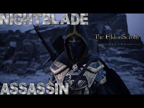 Elder Scrolls Online - Nightblade Gameplay (Bow/Assassination)