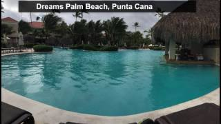 Review of the Dreams Palm Beach resort, in Punta Cana