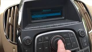 How to set up bluetooth on  your phone on a  Buick lacrosse 2010