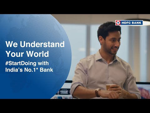 #StartDoing with India's No.1* Bank