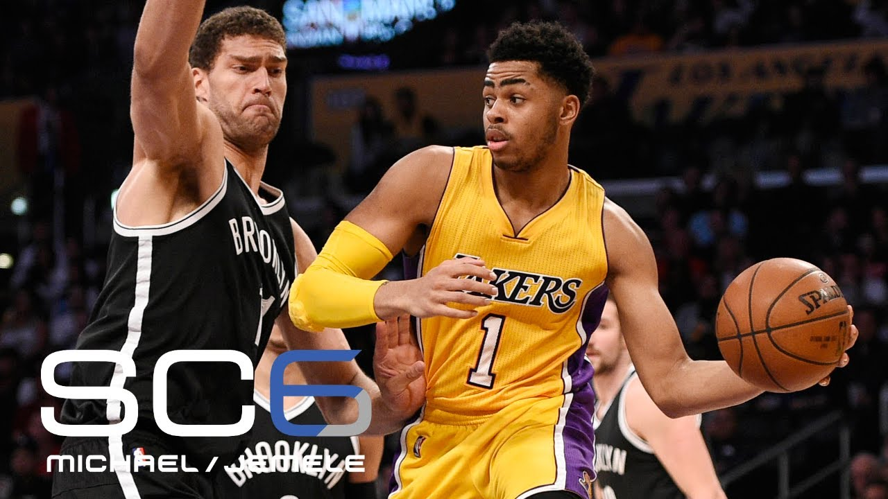 Nets to acquire D'Angelo Russell, Timofey Mozgov; Brook Lopez, 27th pick to Lakers