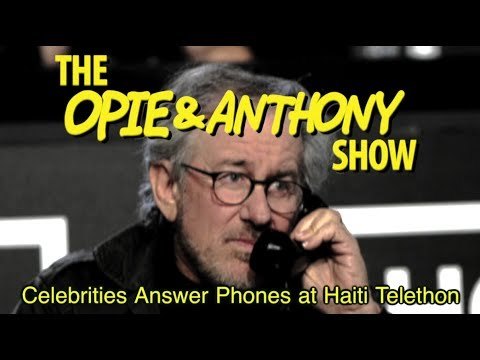 Opie & Anthony: Celebrities Answer Phones at Haiti Telethon (01/25/10)