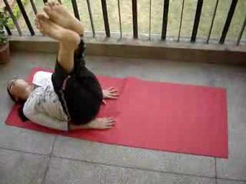 weight loss yoga  both leg rotation  youtube