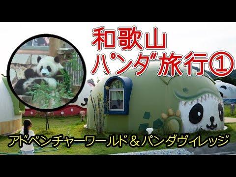 【8歳が行く】和歌山パンダ旅行1日目~アドベンチャーワールド&パンダヴィレッジ~