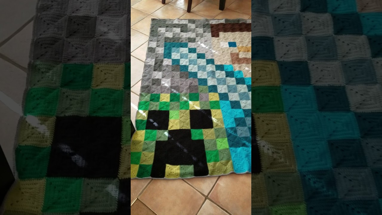 And She Games...: 24 Free Minecraft Crochet Patterns | 720x1280