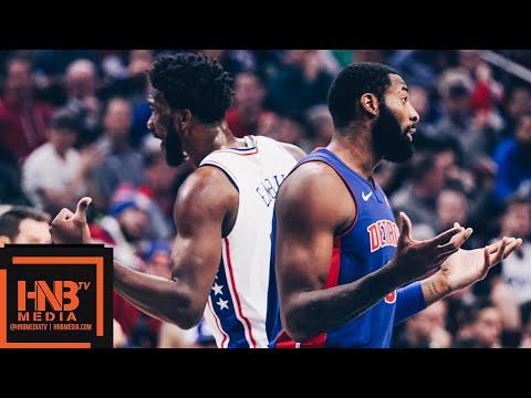 Philadelphia Sixers vs Detroit Pistons Full Game Highlights | 11.03.2018, NBA Season