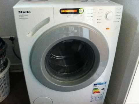 miele w 1613 novotronic my new washer youtube. Black Bedroom Furniture Sets. Home Design Ideas
