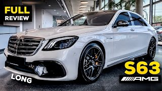 2020 Mercedes AMG S63 V8 Long Is The $300,000 Ultra-Luxury TANK!