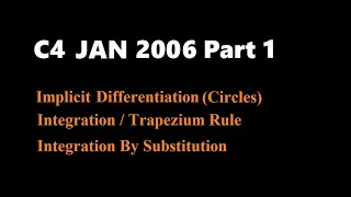 C4 2006 Jan (Part1 Q1,2,3)