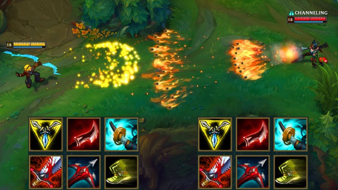 Ezreal Vs Miss Fortune Full Build Fights Best Outplays Youtube