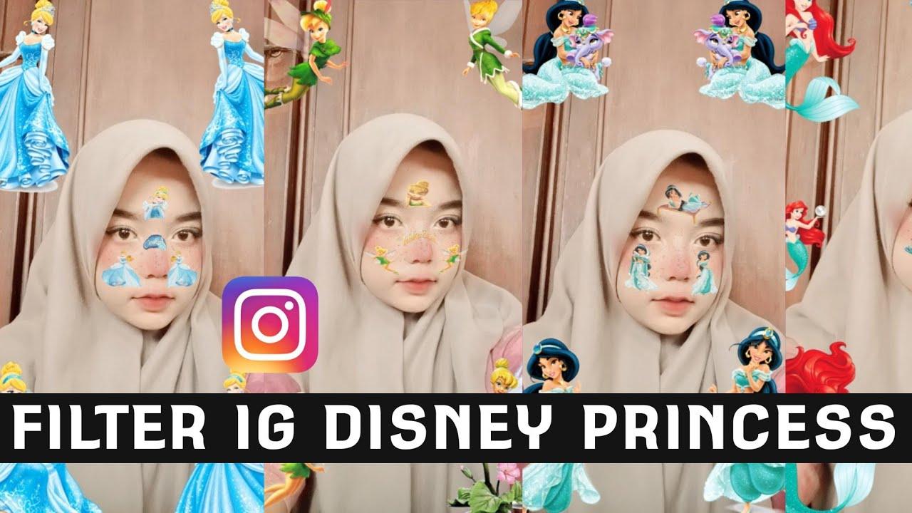 10 Nama Filter Instagram Terbaru Animasi Kartun Disney Princess Lucu Dan Aesthetic Viral Di Tiktok Youtube