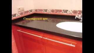 Тумба в ванную комнату столешница искусственный камень и литой умывальник (на заказ в Харькове)(, 2013-10-08T15:08:58.000Z)