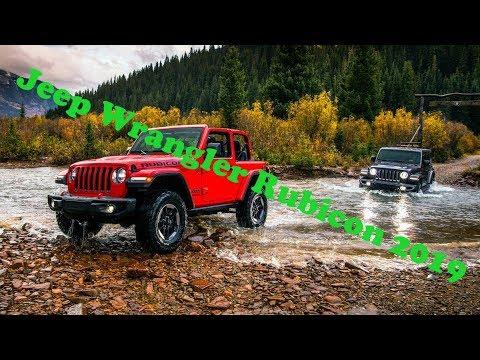 За рулем Jeep Wrangler Rubicon 2019