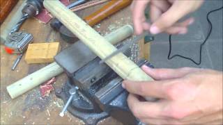 How to Make Nunchucks (Nunchaku) Full Video