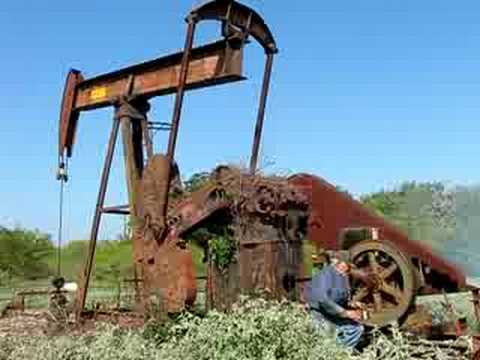 Starting Old Oilwell For The First Time