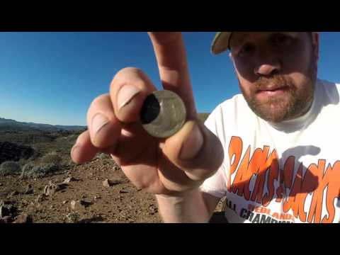 Metal Detecting the Old Gold Mine Site 10-24-15