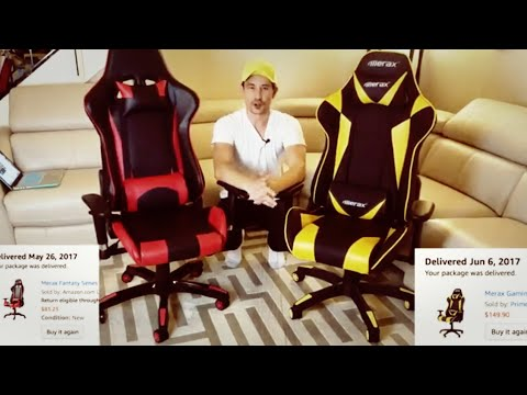 $83 vs $150 Merax Gaming Chair Comparison | Which One is the Best ?