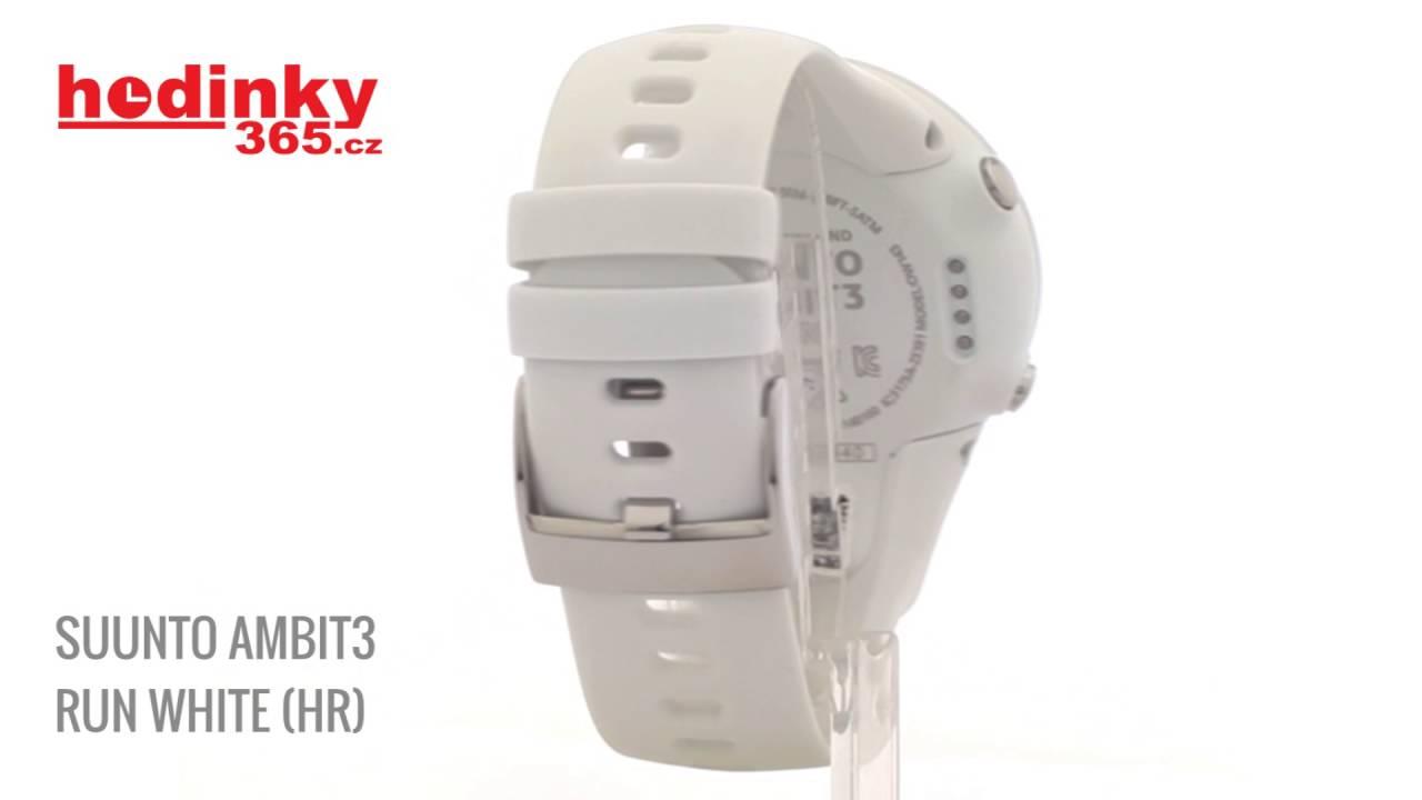 SUUNTO AMBIT3 RUN WHITE HR - YouTube ac3ff10160