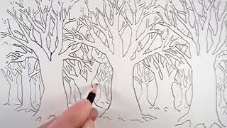 How to Draw a Tree and a Forest