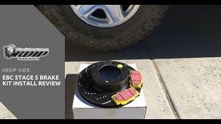EBC S5KF1405 Stage-5 Superstreet Brake Kit