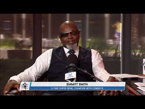 Emmitt Smith: Jerry Jones & Jimmy Johnson Have Already Mended Fences | The Rich Eisen Show | 8/11/17
