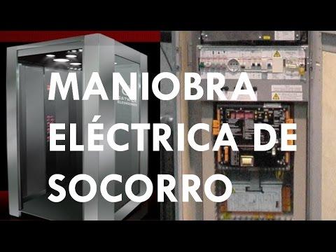 ASCENSORES SIN CUARTO DE MAQUINAS: MANIOBRA ELECTRICA DE SOCORRO ...