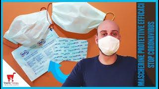mascherina antivirus a uncinetto