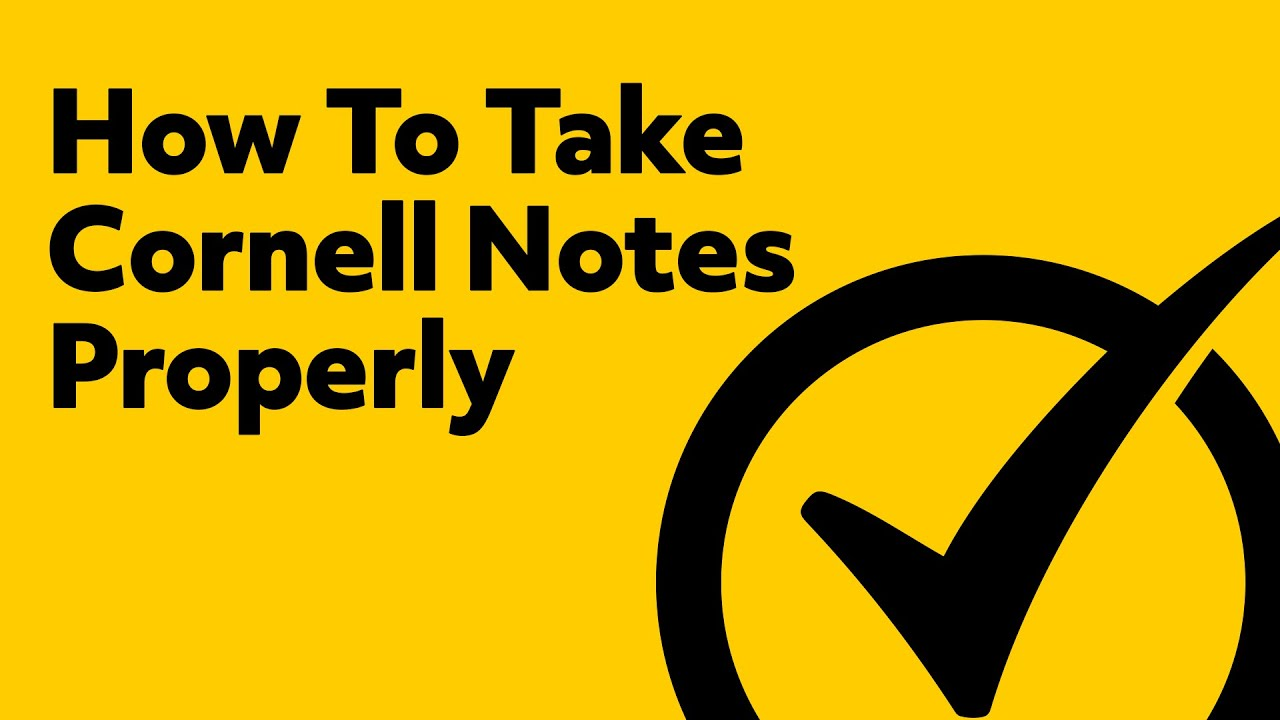 The Cornell Note-Taking System: Learn the Method Students Have Used to Enhance Their Learning Since the 1940s