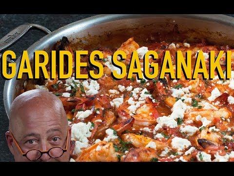 AZ Cooks: Garides Saganaki (Shrimp with Tomatoes & Feta)