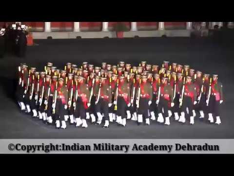 Night Drill Before Passing Out Parade At IMA Dehradun Dec 9,2017