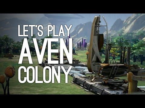 Aven Colony PS4 Gameplay: Let's Play Aven Colony - THE PEOPL