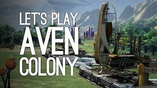 Aven Colony PS4 Gameplay: Let's Play Aven Colony - THE PEOPLE VS OUTSIDE XTRA