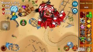 Bloons Monkey City Mobile E34 - Moab Graveyard - Strategy