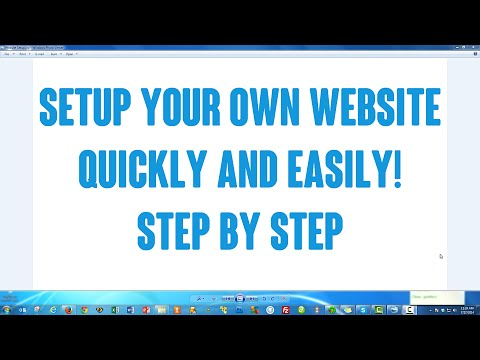How to Setup / Create Your Own Website With WordPress Step by Step EASY!