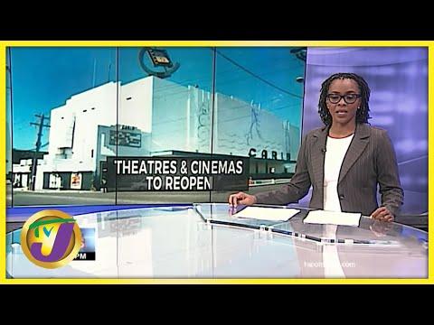 Theaters & Cinemas to Reopen in Jamaica | TVJ News - June 23 2021