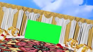Wedding Frame Green Screen Motion Background Video Effects HD Free Green Screen