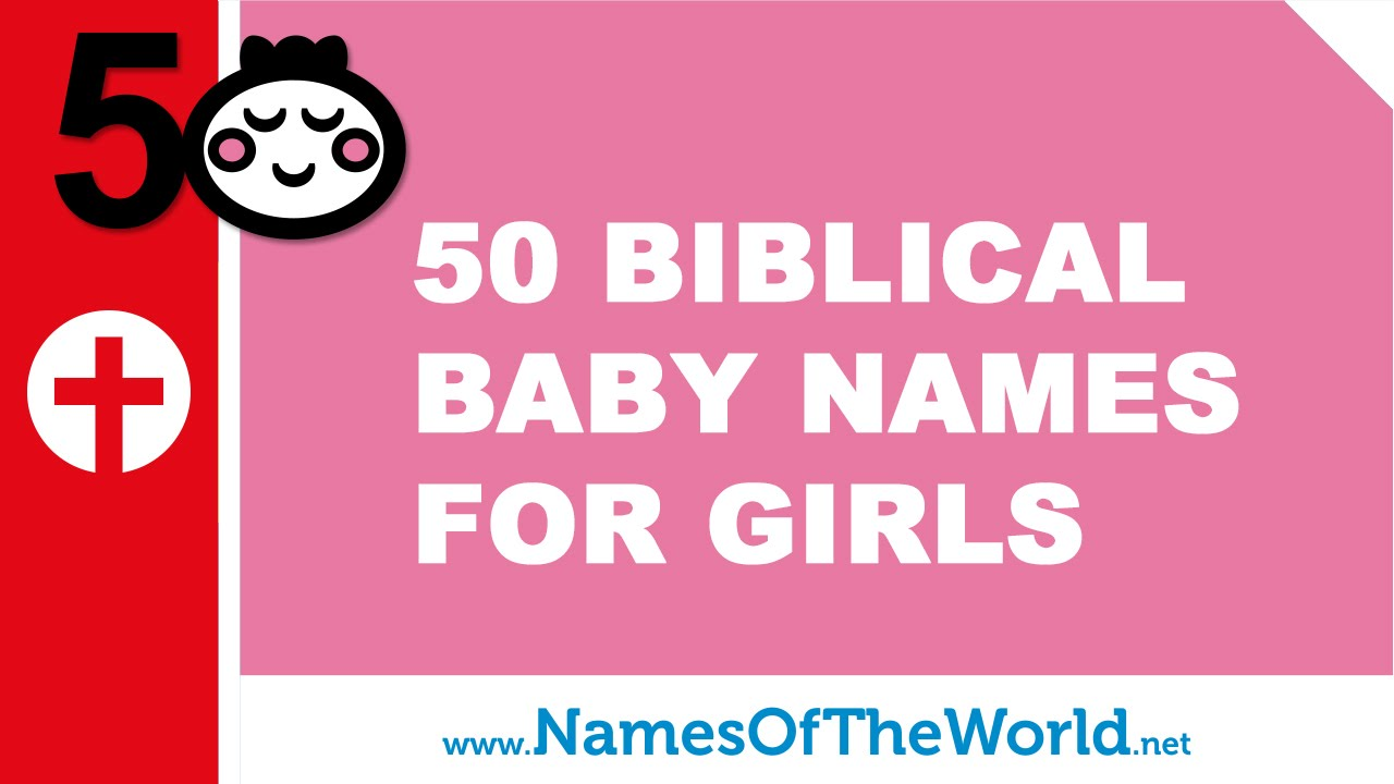50 biblical names for