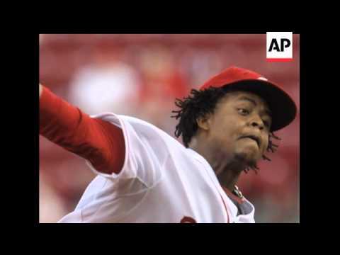 Cincinnati Reds pitcher Edinson Volquez has been suspended 50 games by Major League Baseball for fai
