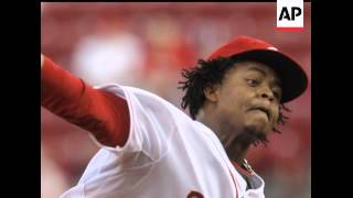 Cincinnati Reds pitcher Edinson Volquez has been suspended 50 games by Major League Baseball for fai