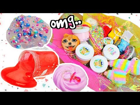 UNKNOWN SLIME SHOPS REVIEW! 100% Honest Review! Cutest Slime Package EVER