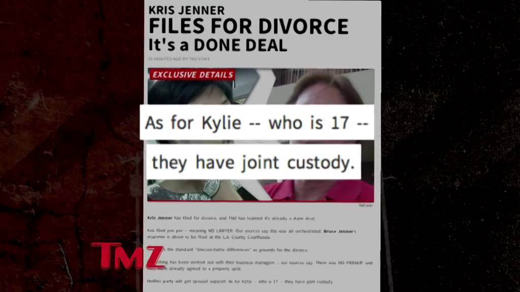 Kris Jenner Divorce is a Done Deal