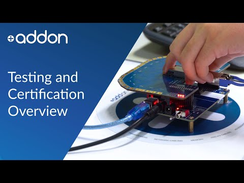 AddOn Testing and Certification Overview