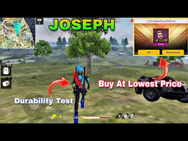 How To Get New Character Joseph At Lowest Price Joseph