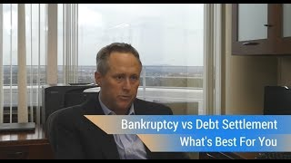 Bankruptcy vs Debt Settlement
