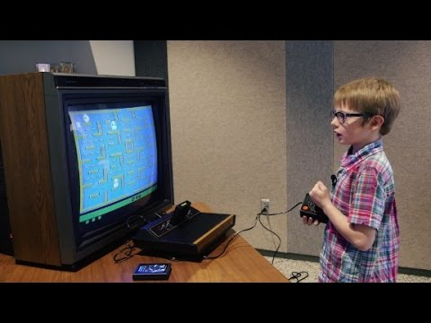 Kids vs   80s video games   YouTube