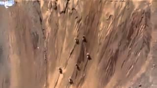 Motorcycle Racing Terrain Steep Climb Hills
