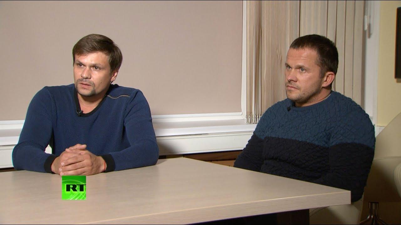 İngiltere'nin Skripal vakasında suçladığı Petrov ve Boşirov: Ajan değiliz