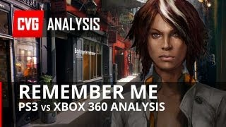 Remember Me - Xbox 360 vs PS3 Comparison