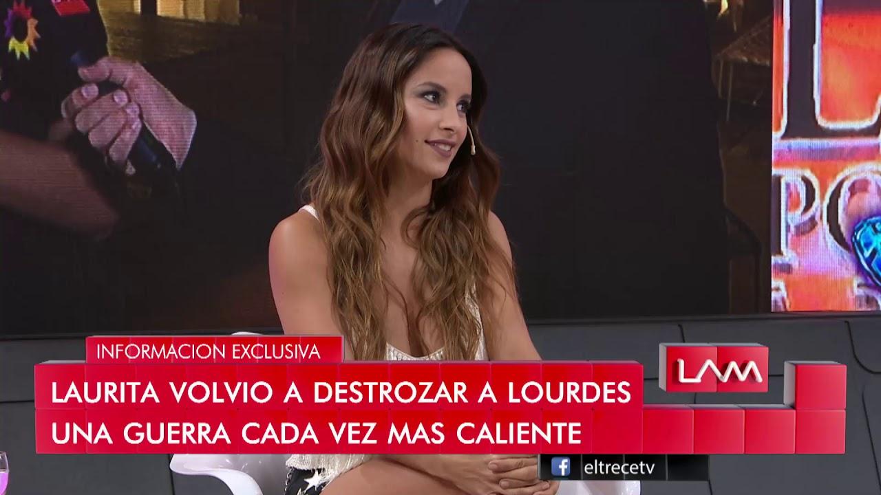 Fotos Desnudas De Lourdes Sanchez salieron a la luz los dichos de laurita fernández contra
