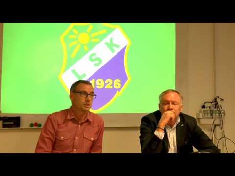 151020 Presskonferens Jonas Olsson ny tränare i LSK